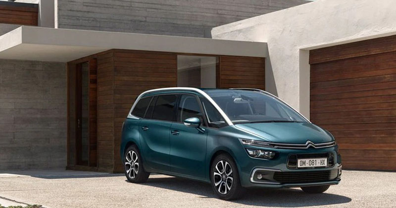 Citroen Grand C4 Spacetourer Design