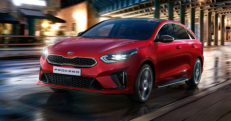 Kia ProCeed Design